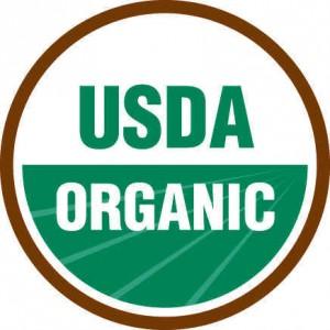 USDA Organic Seal.