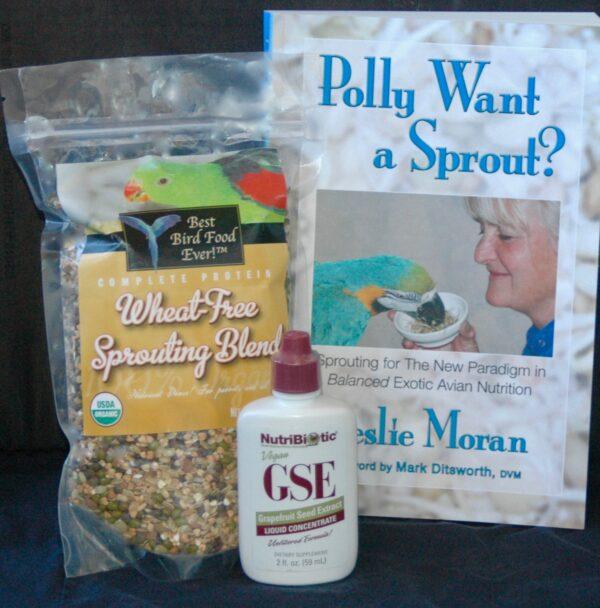 Wheat-free sprouting kit