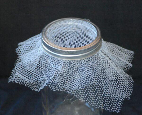 White nylon net