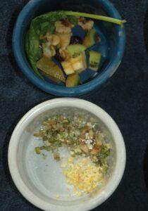 A Balanced Macaw-sized Meal